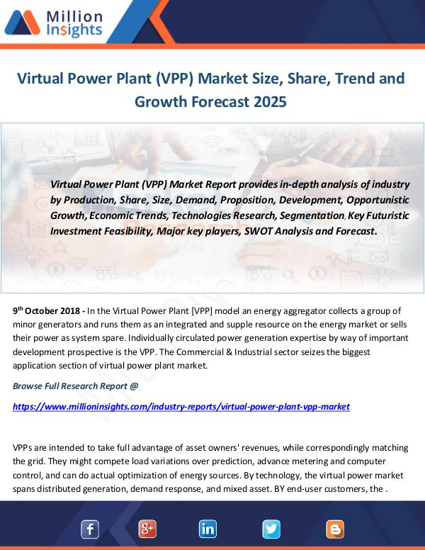Industry and News Virtual Power Plant (VPP) Market
