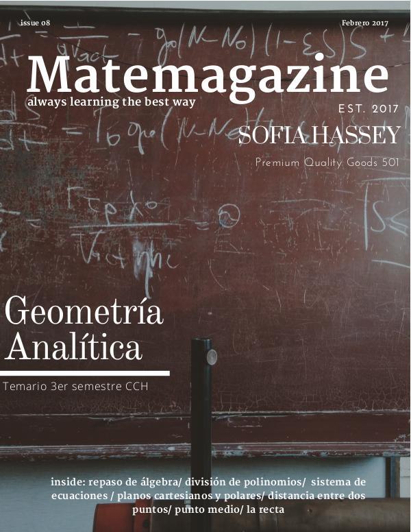 Matemágazine 1