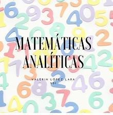 Matemáticas Analíticas