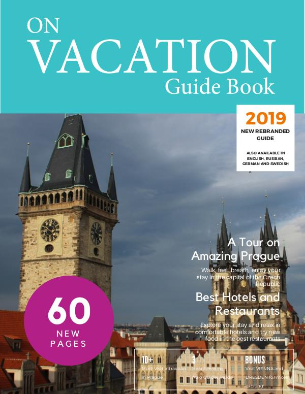On Vacation Guide Book Prague