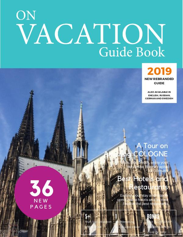 On Vacation Guide Book Cologne