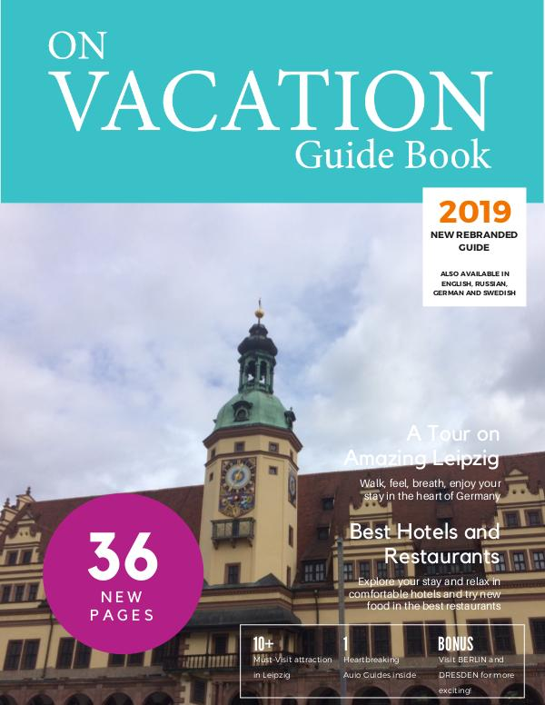 On Vacation Guide Book Leipzig
