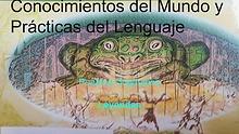 CONOCIMIENTOS DEL MUNDO  Y P.DEL LENGUAJE