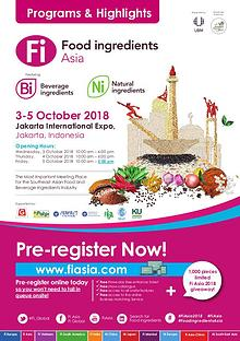 Fi Asia 2018 Visitor Programs and Highlights