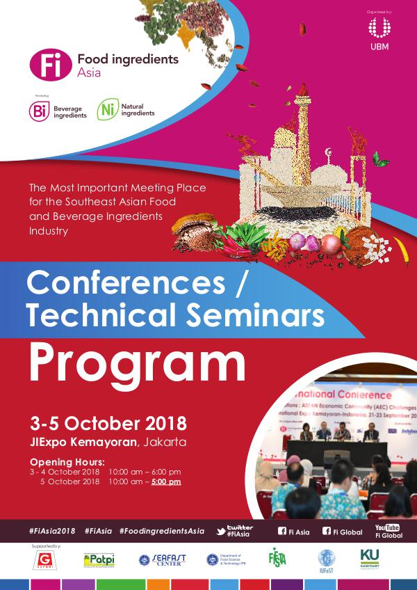 Conference, Technical Seminar and Program