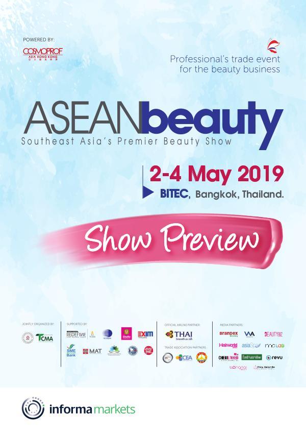 ASEAN beauty 2019 Show Preview ShowPreviewABT2019-HighRes