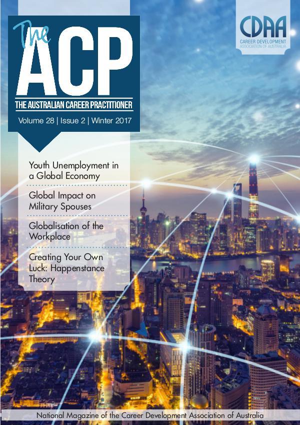 Australian Career Practitioner Magazine Winter 2017