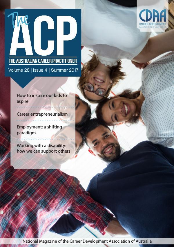 Australian Career Practitioner Magazine Summer 2017