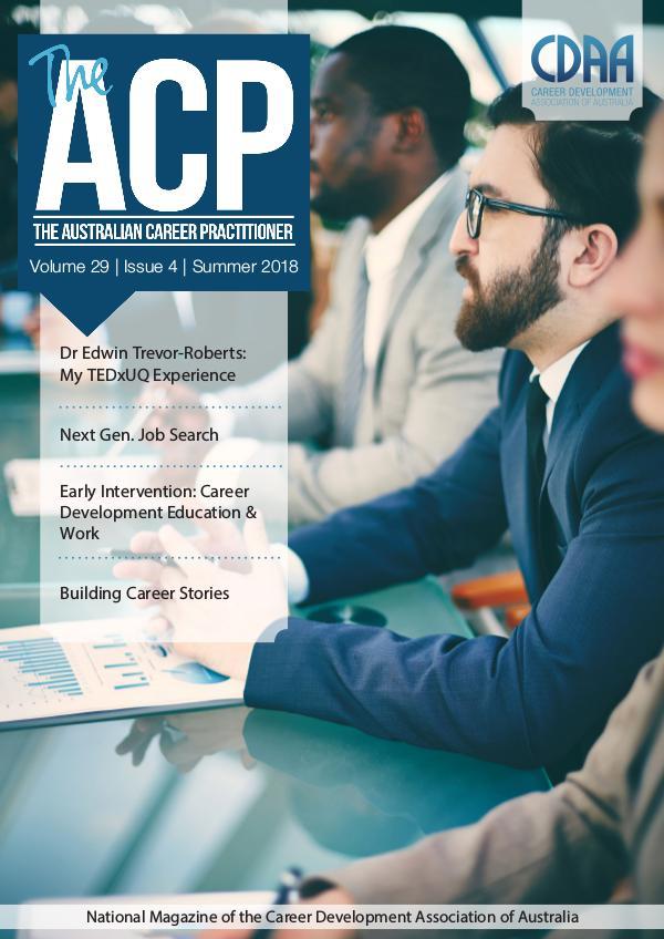 Australian Career Practitioner Magazine Summer 2018