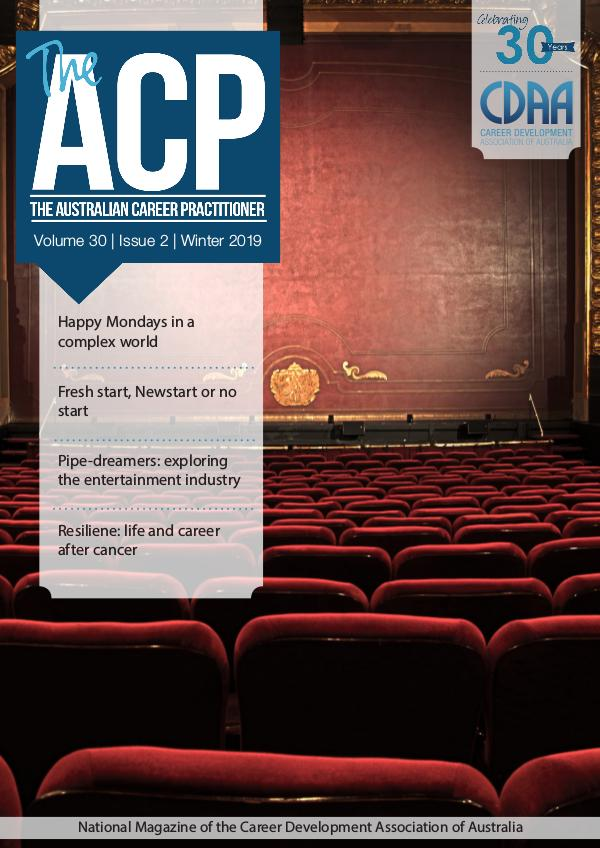 Australian Career Practitioner Magazine Winter 2019