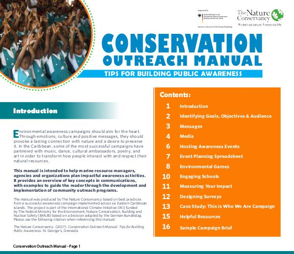 Conservation Outreach Manual Campaign Manual FINAL