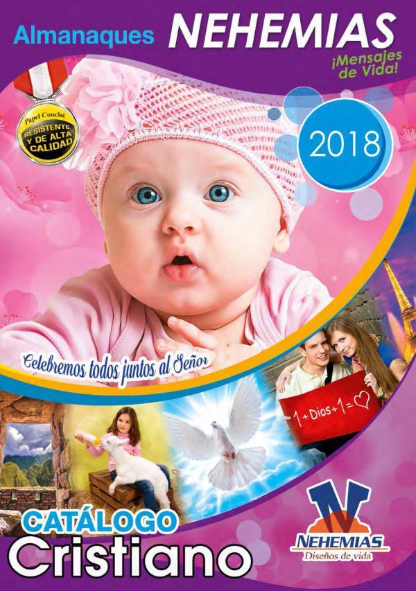 Nehemías Catálogo de Almanaques 2018 Nehemías catalogo almanaques 2018