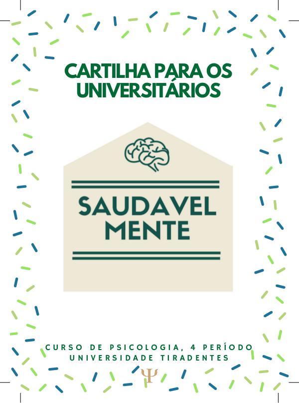 Cartilha para Estudantes - SaudavelMente Cartilha para Universitários - SaudavelMente