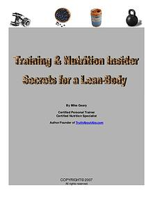 Insider secrets for a Lean Body