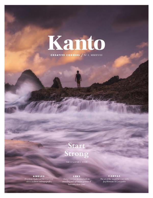 Kanto Vol 1, 2018, Cover 2