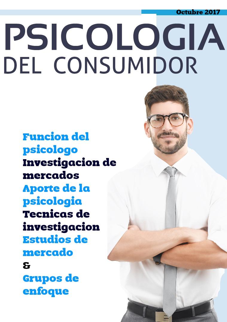 Psicologia del consumidor octubre 2017