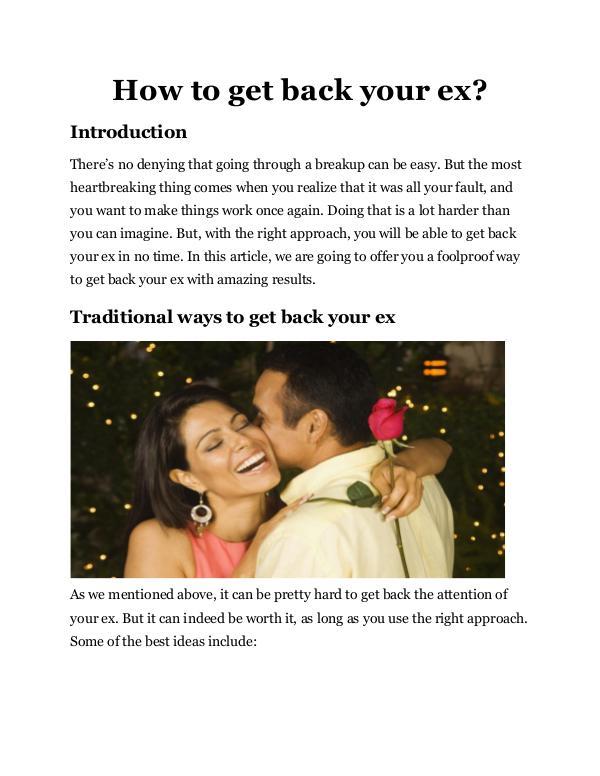 How To Get Back Your Ex How_to_get_back_your_ex