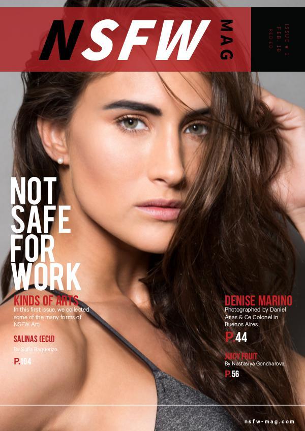 NSFW Magazine Issue 1 (Red Ed.)