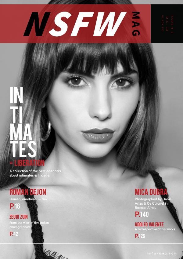 NSFW Magazine Issue 2 (Black Ed.)