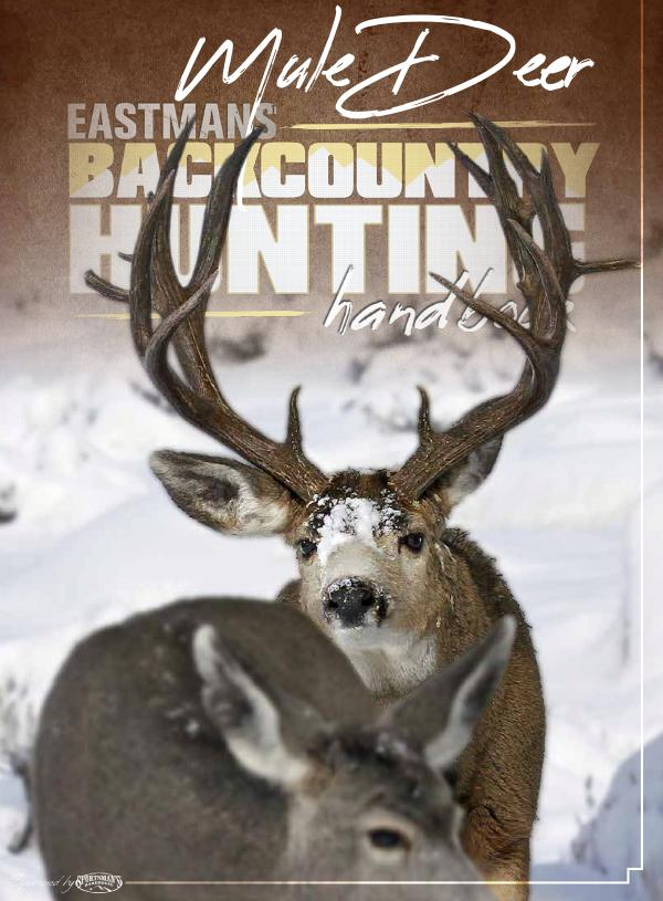 Mule Deer Handbook BackcountryHuntingHandbook_Joomag