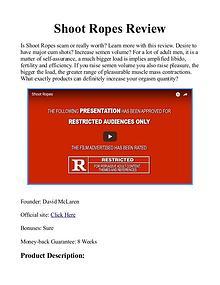 Shoot Ropes PDF / Book By David McLaren Free Download