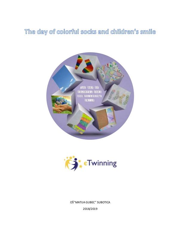 The day of colorful socks and children's smile The day of colorful socks and children