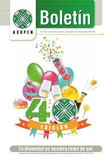 Boletín ASOPEN - 40