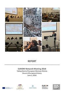 Report: Taking Stock of European Memory Policies