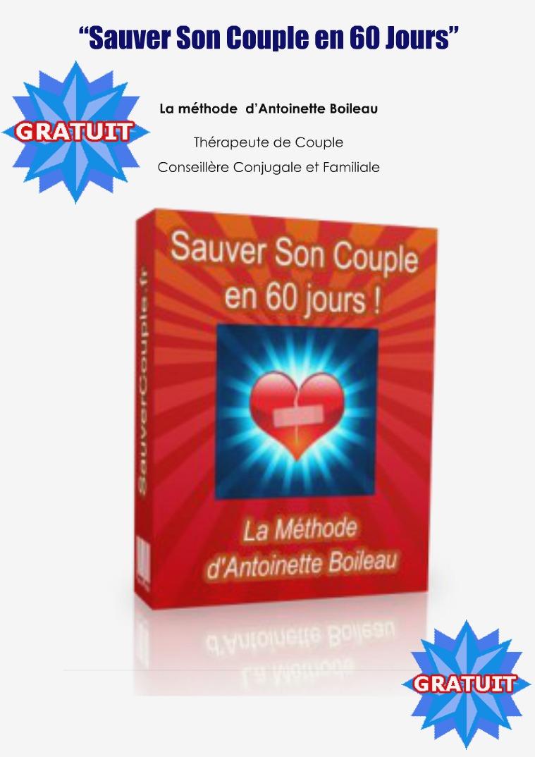 SAUVER SON COUPLE EN 60 JOURS PDF GRATUIT ANTOINETTE BOILEAU