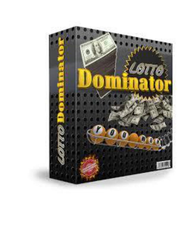 Lotto Dominator Pdf Book Downlod lotto dominator pdf