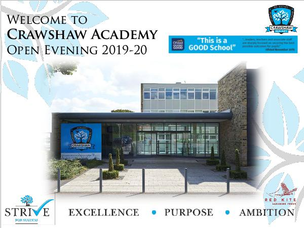 Open Evening Presentation 2018 Open Evening 2018-19