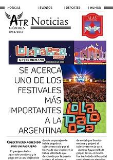 ATR Noticias 08/11