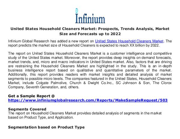 United States Household Cleaners Market- Infinium