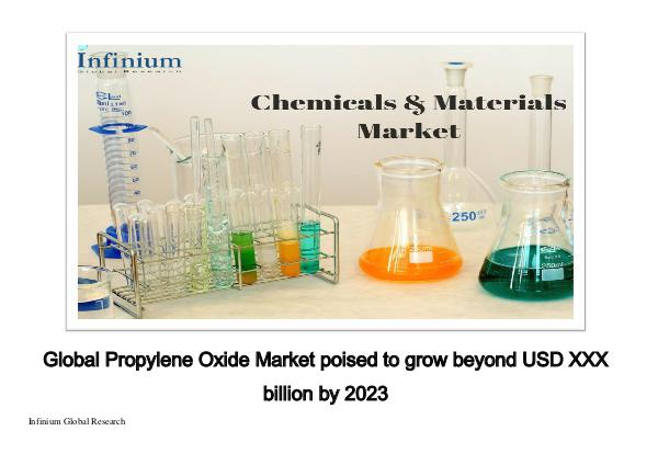 Infinium Global Research Propylene oxide - IGR