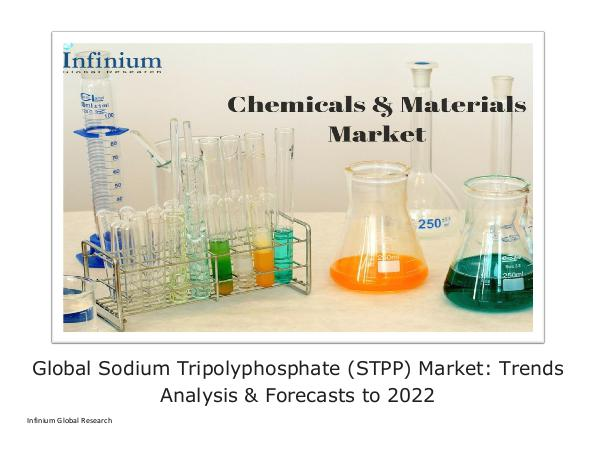 Infinium Global Research Global Sodium Tripolyphosphate (STPP) Market - IGR