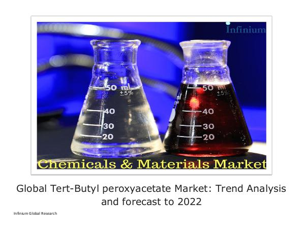 Infinium Global Research Global Tert-Butyl peroxyacetate Market - IGR 2022