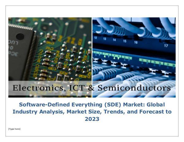Software-Defined Everything (SDE) Market Global In