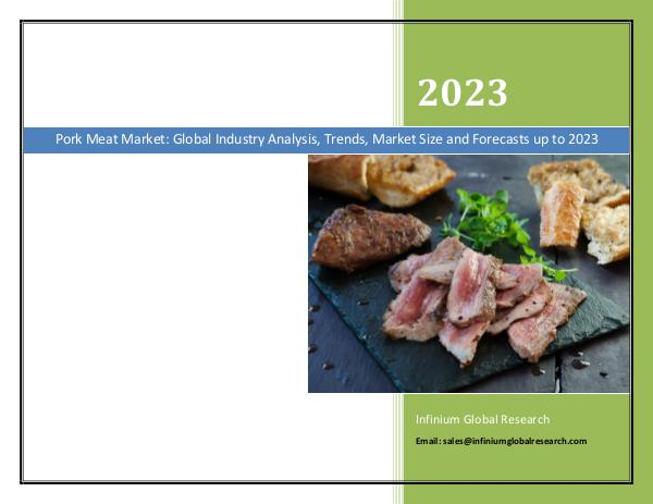 Infinium Global Research Pork Meat Market