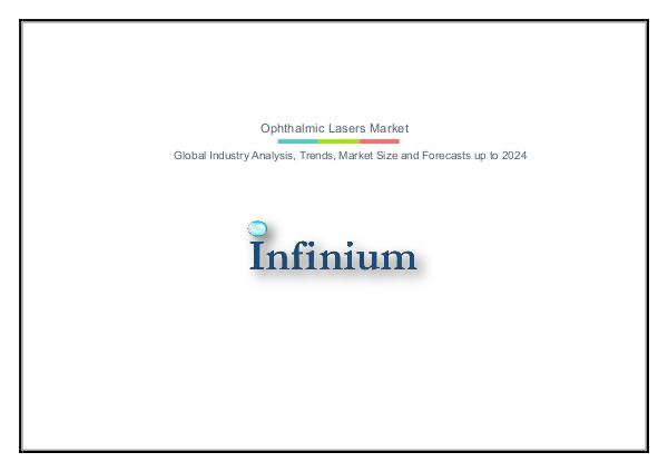 Infinium Global Research Ophthalmic Lasers Market