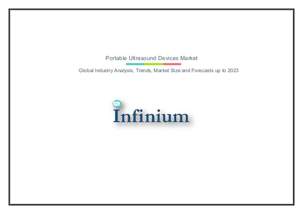 Infinium Global Research Portable Ultrasound Devices Market
