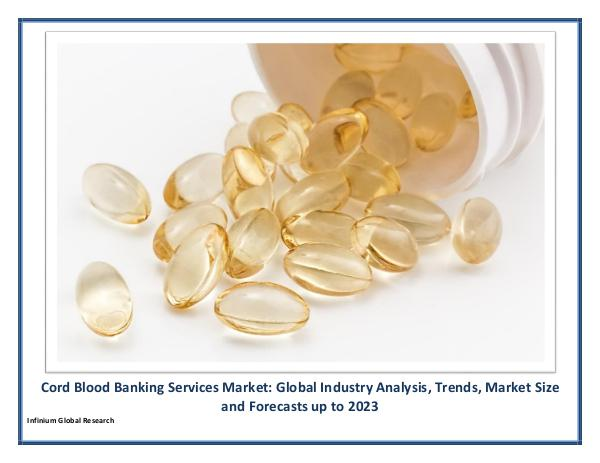Cord Blood Banking Services Market