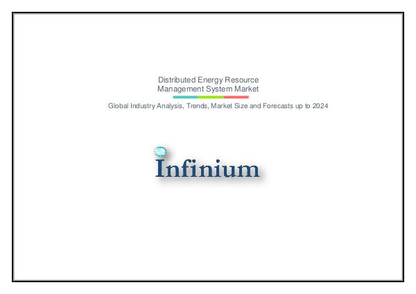 Infinium Global Research Distributed Energy Resource Management System Mark