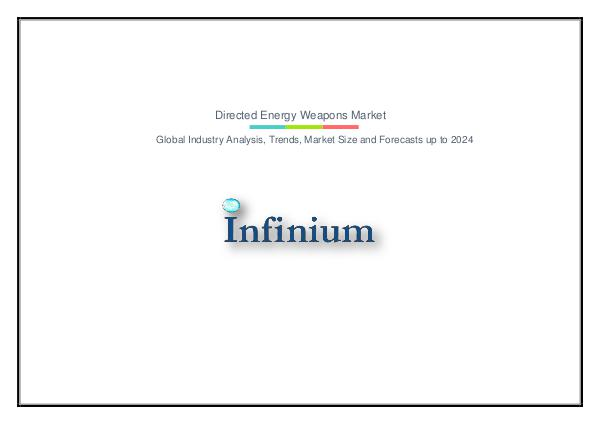 Infinium Global Research Directed Energy Weapons Market