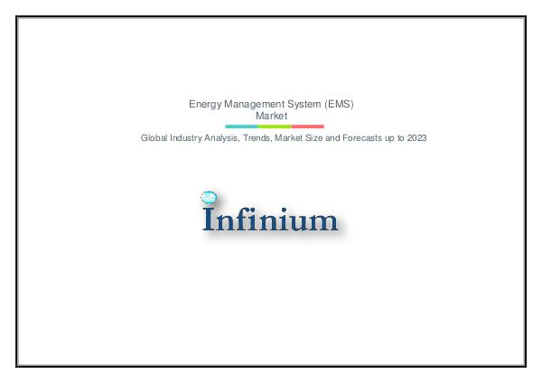 Infinium Global Research Energy Management System (EMS) Market