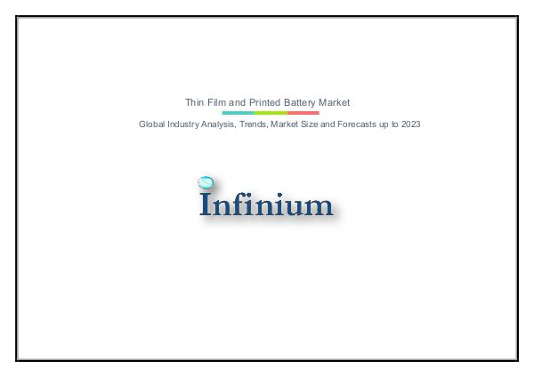 Thin Film and Printed Battery Market