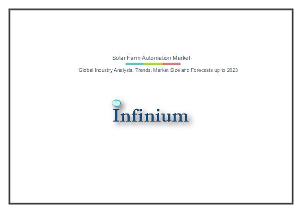 Infinium Global Research Solar Farm Automation Market