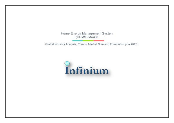 Infinium Global Research Home Energy Management System (HEMS) Market