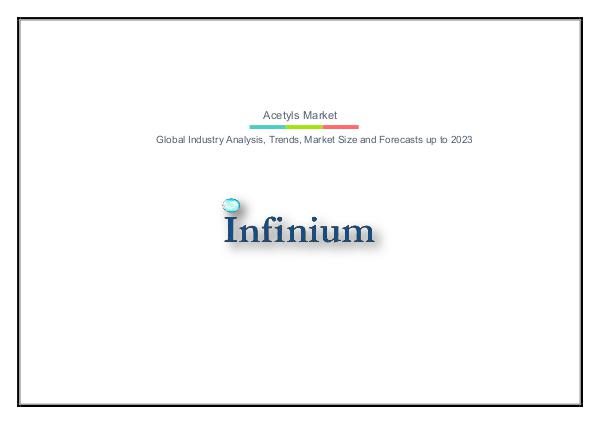 Infinium Global Research Acetyls Market