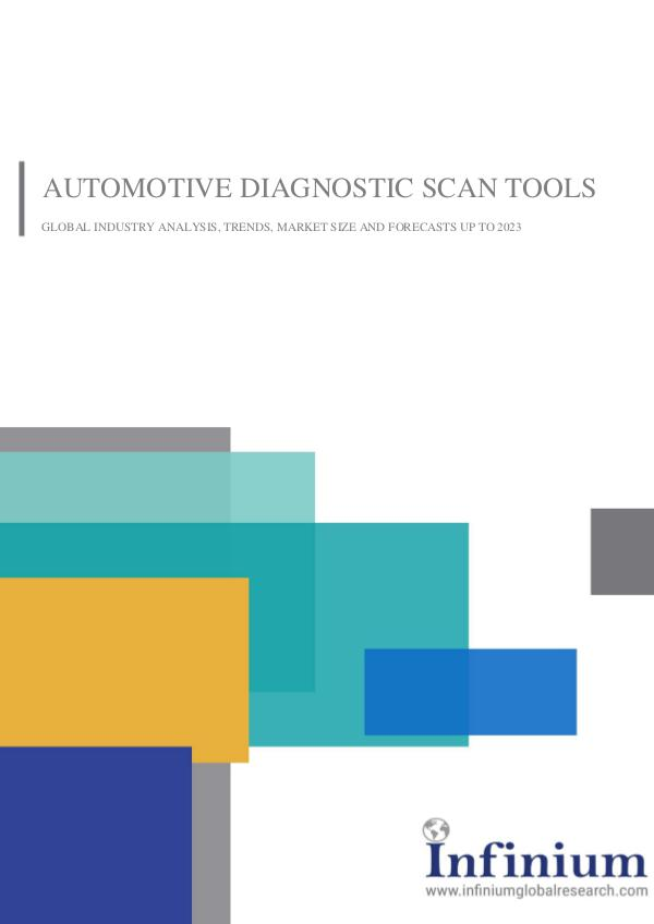 Infinium Global Research Automotive Diagnostic Scan Tools Market