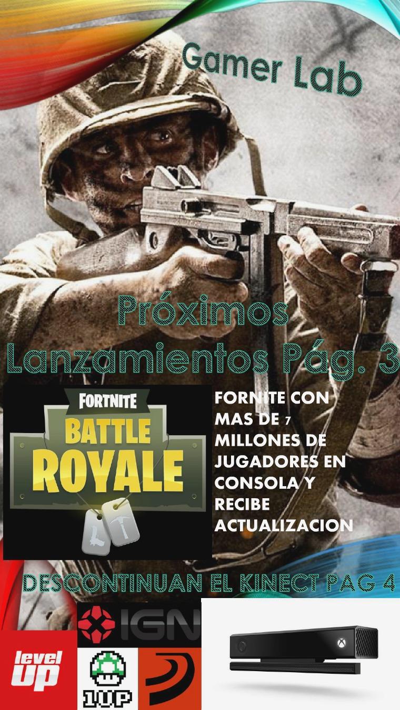 Gamer lab 1ra Edicion Octubre 2017 GAMER LAB